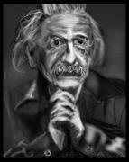 Albert Einstein sketch