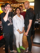Topman Fashion Friday - AAA launch- William, Sabrina and Terry