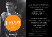Topman Fashion Friday - AAA launch party
