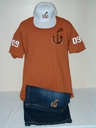 3 Piece Burnt Orange Bo Anchor Outfit
