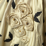"""Detail Jupe """"Haute Couture"""" - Silk Skirt """"Haute Couture"""""""