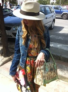 Street Style Day with Casablanca Bag and a lovely chic by Bea Conesa arabic chic look