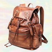 OT Hand crafted distressed backpack 33_01