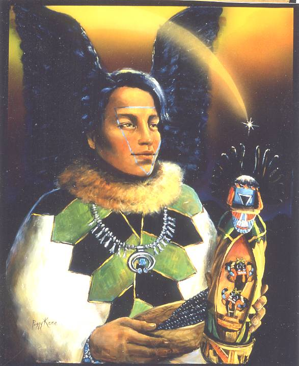 Crow Wing Mother-Hopi