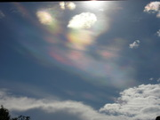 O céu se coloriu