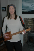 4 string Red Dog Guitar!!!