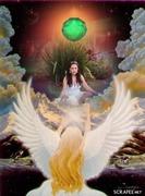 abençoada pelo anjo