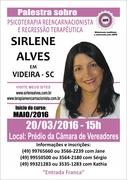 SIRLENE Alves Palestra Videira