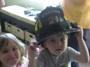 Chase the firefighter!