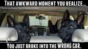 That awkward moment you realize . . . .