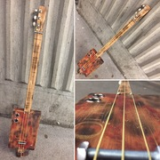 My First Build: 'Oliva' - Fretless 3 String CB Guitar, by Charlie 'Silverspoon' Philp