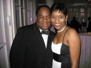 Pastoe Sean & his beautiful wife