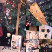 A Christmas build for my Girlfriend: 'Ukulele in a Cup', 23inch Scale Tin Ukulele by Charlie 'Silverspoon'