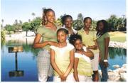 Mom & her girls
