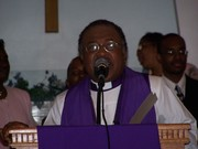 Bishop Scott preaching at ISE Holy Convocation 2008