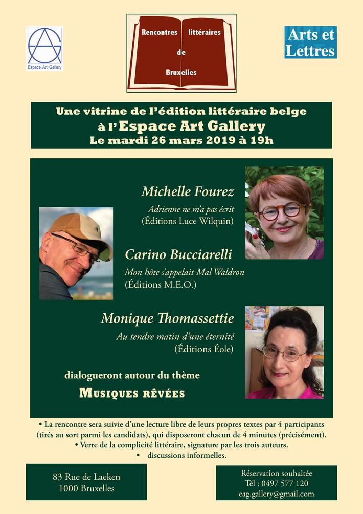 18ème rencontre littéraire de Bruxelles