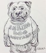 Smiling Dog drawings