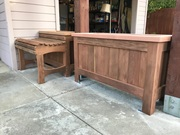 2 Planters With A Bench