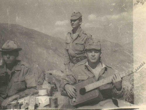 Afganistan 80-th , soviet soldier.