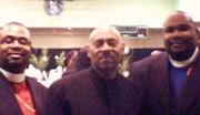 Me, Bishop Paul Morton Sr. and Bishop Nelson Roberson