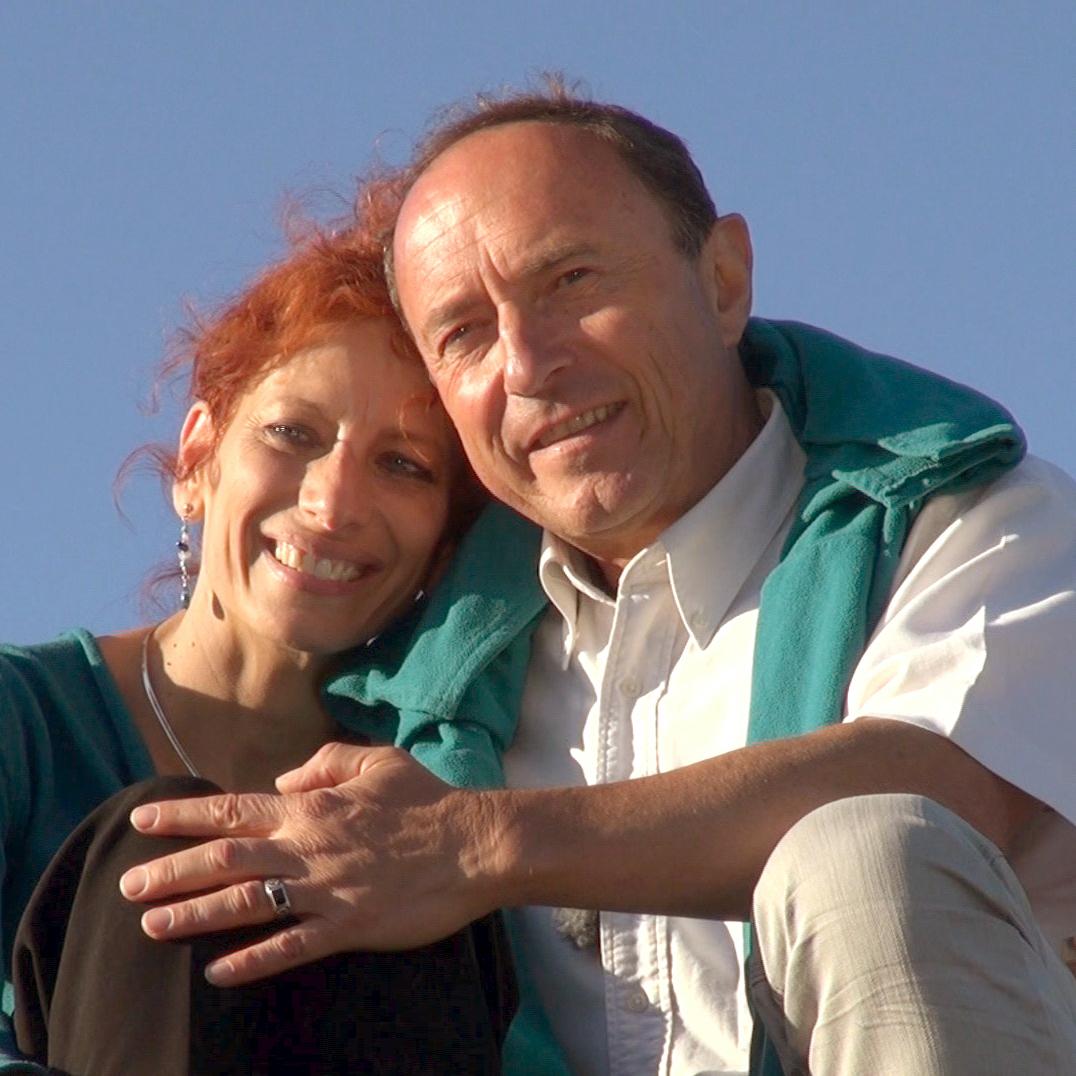 Franck et Nadine Sarah Aubert