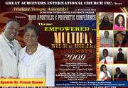 INTERNATIONAL APOSTOLIC &PROPHETIC CONFERENCE 2009
