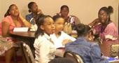 The youth in Youth Church