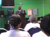 Elder Breland Preaching