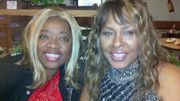 Sisters in  Christ  in God Spotlight ; Thelma as Leola  and Sandra as Mary