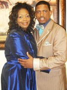 Prophet Lorenzo A. Moore and Lady Michelle Moore