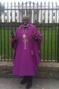 Bishop Dr. Al T. Henry, Sr. Praying at The White House