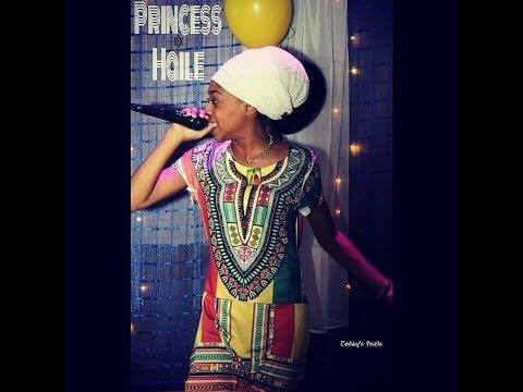 Reggae Dancehall -  Princess Haile Live In Studio
