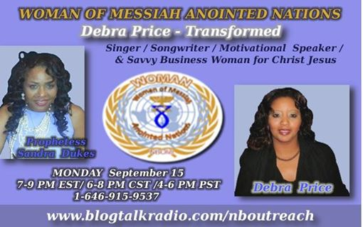 Woman Blogtalk Flyer -Debra Price Sept 15 2014