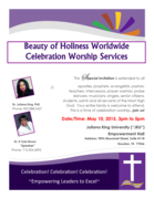 invitation to services may 10