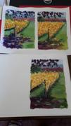 mini vinyard paintings