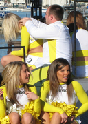 Oregon Cheerleader Backrub