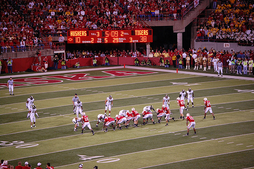 Huskers - 5:09 Left in the 3rd