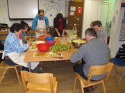 Christmas chutney, cranberry sauce and crumble workshop