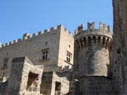 Rhodes Castle, Rhodes, Greece