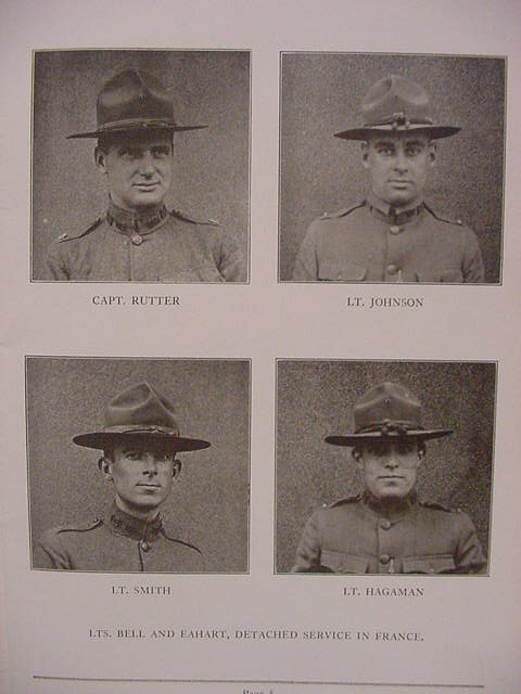 World War I Unit Roster Company C 212th Engineers