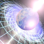 The Earth in the beam of photons