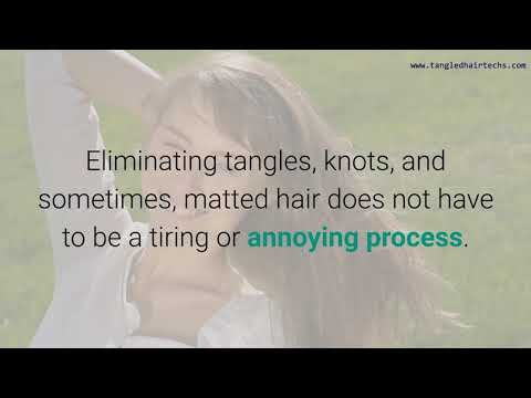 do you have tangled matted hair