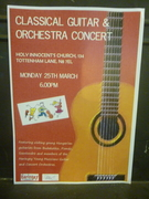 Classical Guitar and Orchestra Concert
