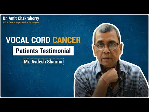 VOCAL CORD CANCER | DR AMIT CHAKRABORTY | CANCER SURGEON | THROAT CANCER SPECIALIST | DOMBIVLI THANE