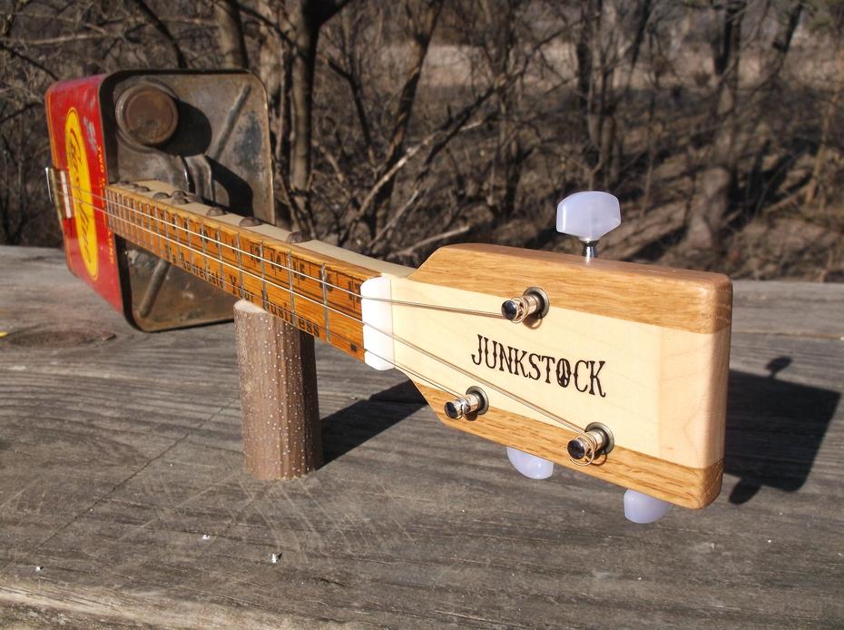Junkstock Gas Can Guitar