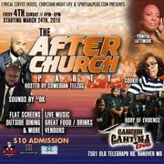 The AFTER Church PARTY Every 4th Sunday