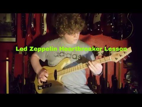 Led  Zeppelin Heartbreaker 3 String Guitar Lesson