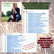 Jessie Lynn #1 on New Music Weekly Chart 03-22-19