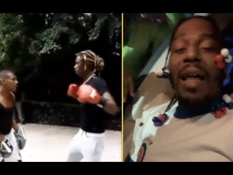 Young Thug  Boxes Like A Girl and Sauce Walka Clowns him!