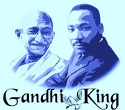 ghandi y luther